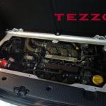 TEZZO バレルンガ 本革巻きステアリングシリーズ『A110トリコロール』発売開始