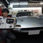 自動車雑誌GENROQさんにてDino246GTレストア記連載中!